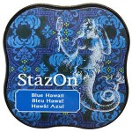 Tusz StazOn Midi - Blue Hawaii