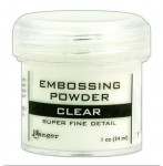 Puder do embossingu - Clear Super Fine EPJ3785