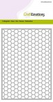 Wykrojnik CraftEmotions - Cutting Grid - Honeycomb