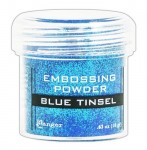 Puder do embossingu Ranger Blue Tinsel EPJ41030