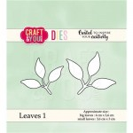 Wykrojnik Craft&You Design CW038 Leaves 1 - Listki