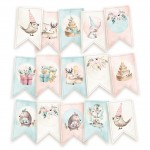Papierowy banerek - die cut Cute & Co.