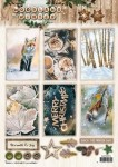 Arkusz die cut Woodland Winter 579
