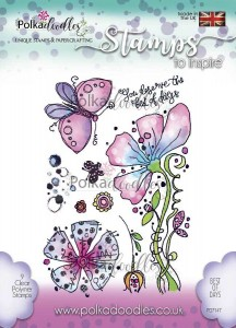 Stempel Posy Doodles - Best of Days