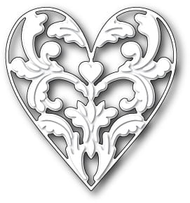 Wykrojnik Memory Box - Exquisite Heart 99364