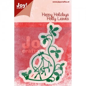 Wykrojnik Joy! Crafts 6002/2047 Holly Leaves - Ostrokrzew