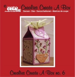 Wykrojnik CREAlies Create A Box - CCAB06