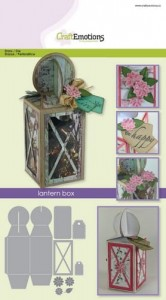 Wykrojnik CraftEmotions - lantern box 58x160x58 mm