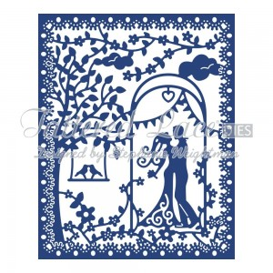 Wykrojnik Tattered Lace - Romance Tapestry