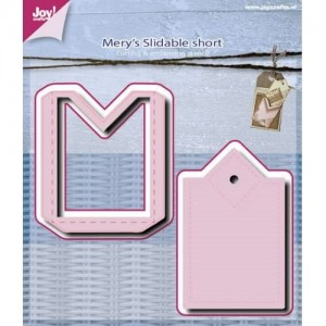 Wykrojnik Joy! Crafts 6002/0512 - Mery's Slidable Short