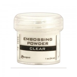 Puder do embossingu Ranger Clear Bezbarwny