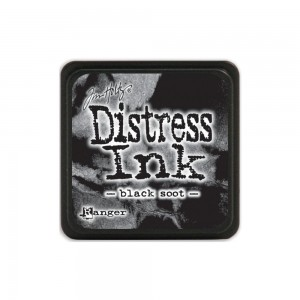 Tusz Distress Mini Pad - Black Soot