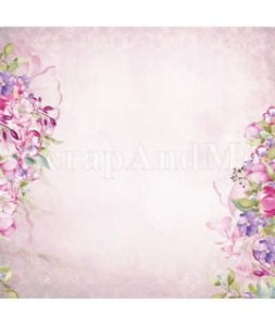 Papier Cradmaking Romantic Garden 01/02