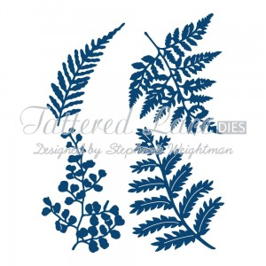Wykrojnik Tattered Lace Ferns