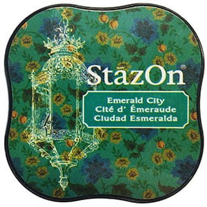 Tusz StazOn Midi - Emerald City