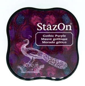Tusz StazOn Midi - Gothic Purple