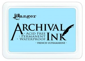 Tusz Archival Ink - French Ultramarine