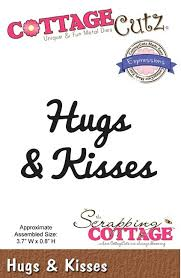 Wykrojnik CottageCutz - Hugs & Kisses