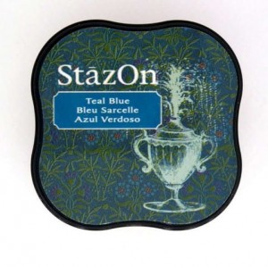 Tusz StazOn Midi - Teal Blue