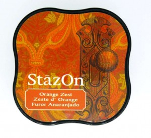 Tusz StazOn Midi - Orange Zest