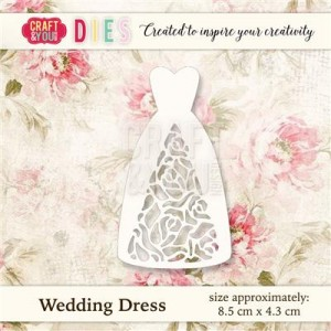 Wykrojnik Craft&You Design CW021 Wedding Dress - Suknia Ślubna