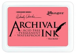 Tusz Archival Ink -  Tea Rose