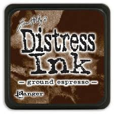 Tusz Distress Mini Pad - Ground Espresso