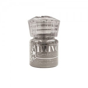 Puder do embossingu Nuvo -  Classic Silver 601N