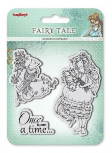 Zestaw stempli Fairy Tale - Once upon a time - SCB4904009b
