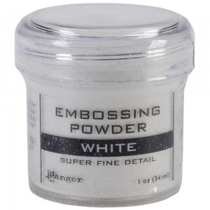 Puder do embossingu Ranger Fine White (Biały)