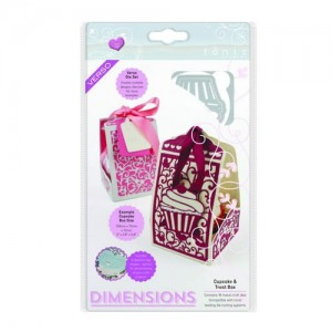 Wykrojnik Cupcake & Treat Box - 1652e