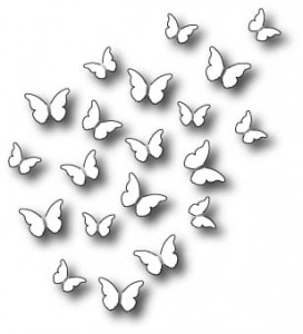 Wykrojnik Memory Box - Peaceful Butterfly Wings 98880