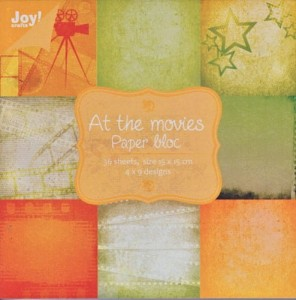 Papier At the movies 15x15 6011/0036