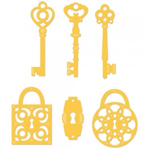 Wykrojnik Kaisercraft - Keys & Locks