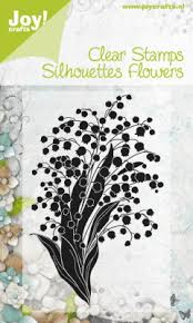 Stempel Silhouettes Flowers 6410/0049