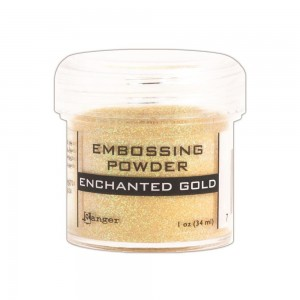 Puder do embossingu Ranger Enchanted Gold (Złoty)