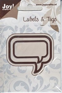 Wykrojnik  Joy!Crafts 6002/0206 Labels & Tags - Etykieta
