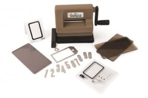 Maszynka Sizzix Sidekick Starter Kit (Brown & Black) featuring Tim Holtz