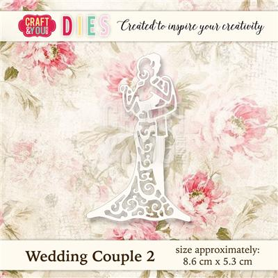 Wykrojnik Craft&You Design CW019 - Wedding Couple (Młoda para).jpg