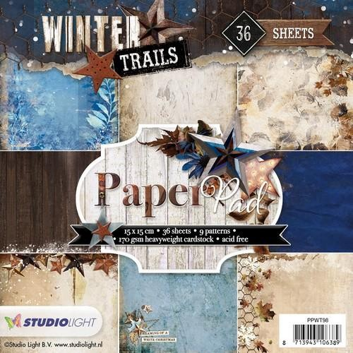 Winter Trails nr 98 PPWT98 papier
