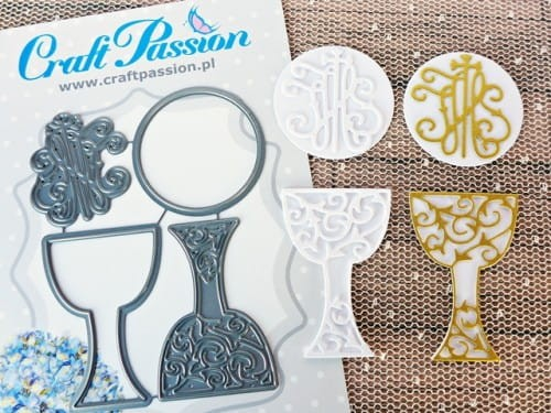 Wykrojnik Craft Passion - Kielich i hostia #3