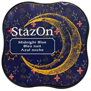 Tusz StazOn Midi - Midnight Blue