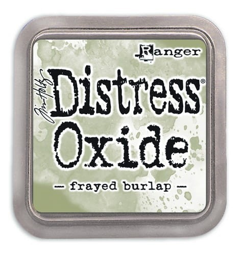 Tusz Distress Oxide - Frayed Burlap