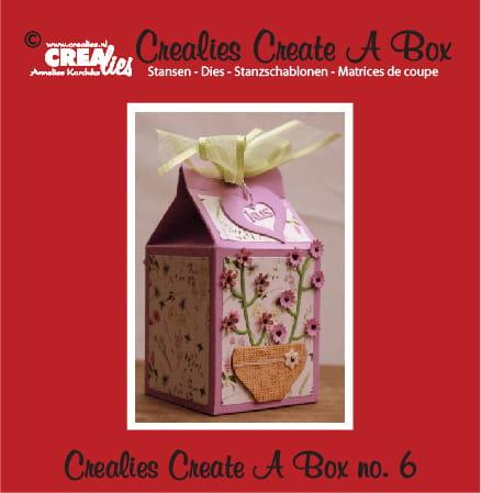 Wykrojnik CREAlies Create A Box (Pudełko z kwiatami) - CCAB06